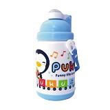PUKU Botol Minum Thermal 375cc [P14600-B] - Blue - Perlengkapan Makan dan Minum Bayi